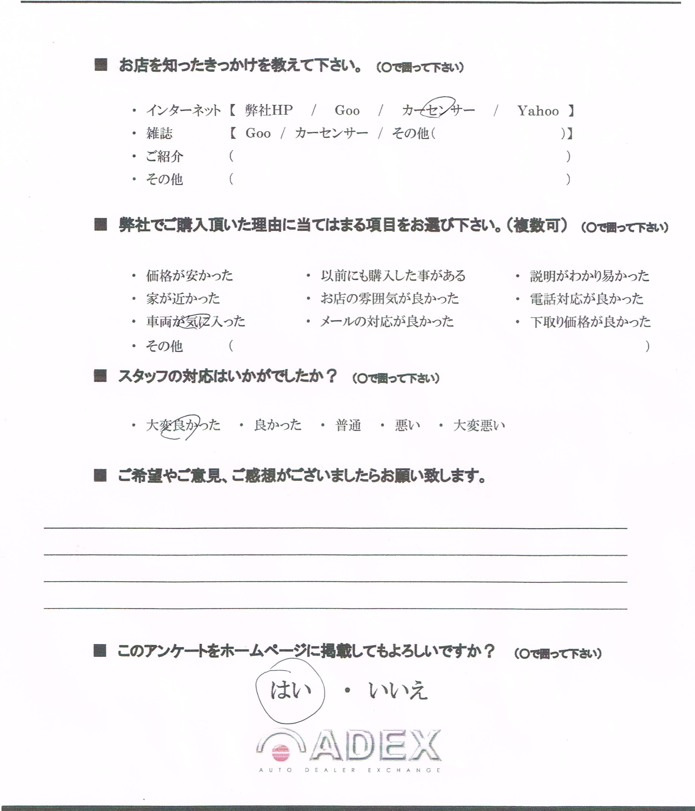 吉田様カマロCCI20151122